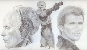 RoboCop Sketch by JonMckenzie