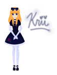 UTAU Newcomer - Krii Vikne by HIDDENloid-EXE