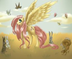 MLP: FiM FLUTTERSHY by dream--chan
