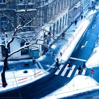 Winter square by ulyce
