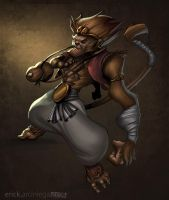 Monkey King Colored by QuetzalRevolver