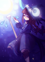 blue sea witch by PastelCannibal