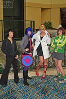 Scott's Girlfriends by CosplayCousins