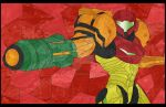 Samus Stained Glass by jmascia