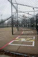Empty Batting Cages by yoshk