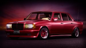 1984 Mercedes-Benz W123 6.0 AMG Wide-body by Splicer436