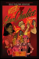 MYSTERY OF THE SILVER CHALICE Theatre Poster by PaulSizer