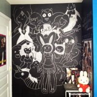 Chalk board: adventure time collage by pointy-bras-hurt