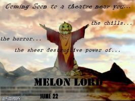 Melon Lord movie Poster by Neverfallforfun