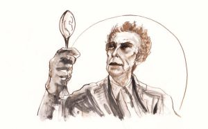 The Doctor and His Spoon... En Garde... by BlueMillenium