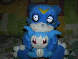 veemon and his son??? by veemon02