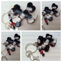 Resin Bones Keychain/Charm by TiellaNicole
