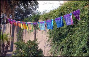 Prayer Flags - Chakra Rainbow by andromeda