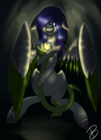 Sapphira and Lapillus -gift- by HitMeWithBrokenLeave