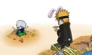 Pein vs kakashi-rabbit version by beckitach