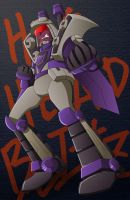 Hothead Blitzwing by bbpuyo