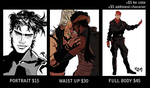 COMMISSIONS ARE OPEN 7/10 SLOTS OPEN by Yasu-Aibu
