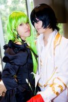 Afa day 1 : Lelouch and C.C by rinabyakuran