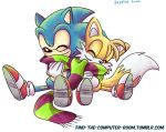 Sonic and Tails by sapphireluna