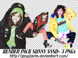 [Render Pack] #7 SNSD Sunny for NYLON - 3PNGs by jangkarin