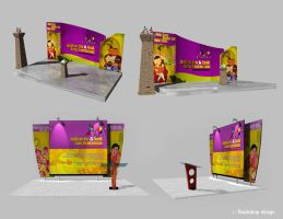 backdrop design by chezoon