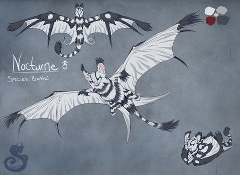 Nocturne Reference by animalartist16