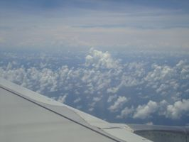 View from the plane by Laura-in-china