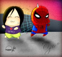I heart SPIDEY by RynoBengawan