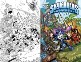 Skylanders 4 Cover by Fico-Ossio
