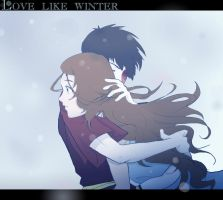 Zutara - Love Like Winter by shaolinfeilong