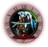 Devil-May-Cry-3 Clock 1.1.1 by drakullas