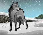 02.09.2014 snow by Raven-loon