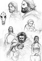 ASoIaF sketch dump 3 by Pojypojy