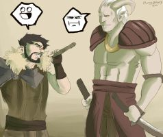 Dragon Age II- Come at me Bro by cherrysplice