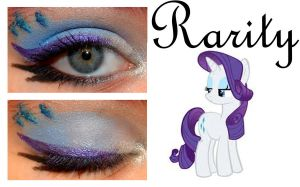 Makeup is Magic: Rarity by nazzara