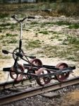Railway bicycle by vdf