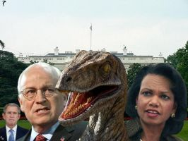 Raptors in the White House by RavengerX
