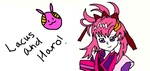 Lacus and Haro! by Zoroark18