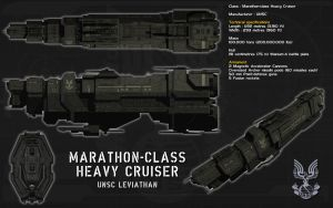Marathon class heavy cruiser ortho by unusualsuspex