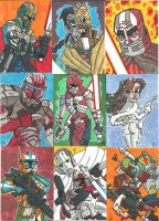 EU Prizes - Sketch Cards 01 by JoeHoganArt