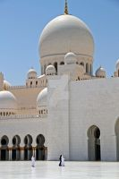 Abu Dhabi - Grand Mosque 3 by LeighWhittaker