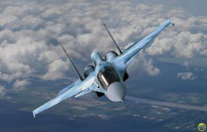 Russian SU-34 by Deepskyer