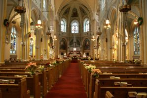 St. Stephen's R.C. Church at Christmas Time by Cloudstreaker