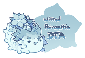 [Closed] DTA! Wilted Poinsettia by toripng