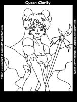 NSG : Queen Clarity lineart by nads6969