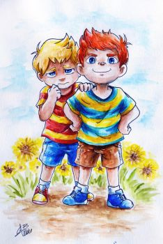 Brothers [Mother3] by Gwend-Noriko-B