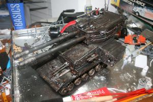 The DreadSaber, Macharius Super Heavy Tank by EngineofWar