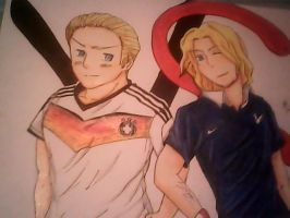 Germany vs France world cup by moritakasoulhyuga