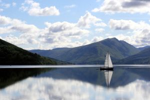 Morning sail on the Loch by amyhooton