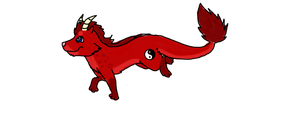 Test Dragonwolf mix Adoption CLOSED by Point-Kahvis